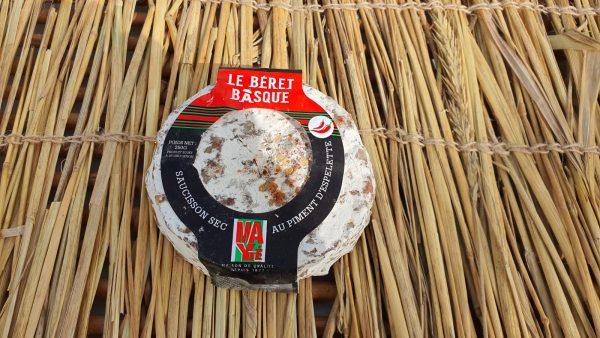 berret basques saucisson sec beret basque