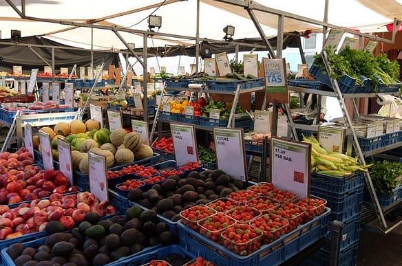 Etale fruits et légumes