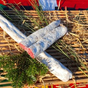 saucisse sèche des pyrénées longanisse