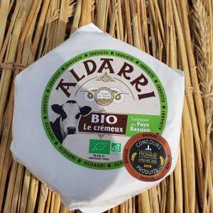 aldari bio le crémeux vache